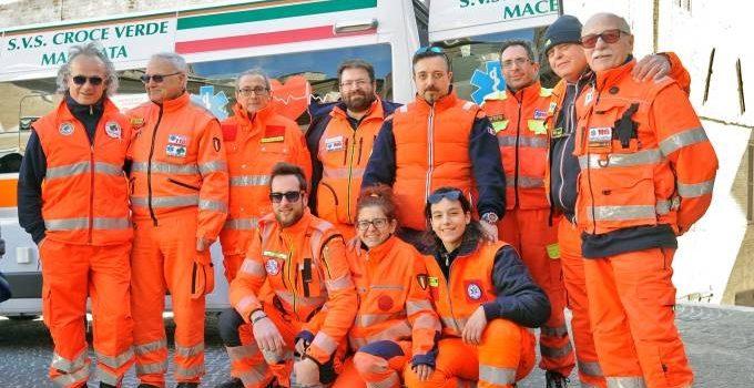 Donazione Ambulanza alla Croce Verde di Macerata